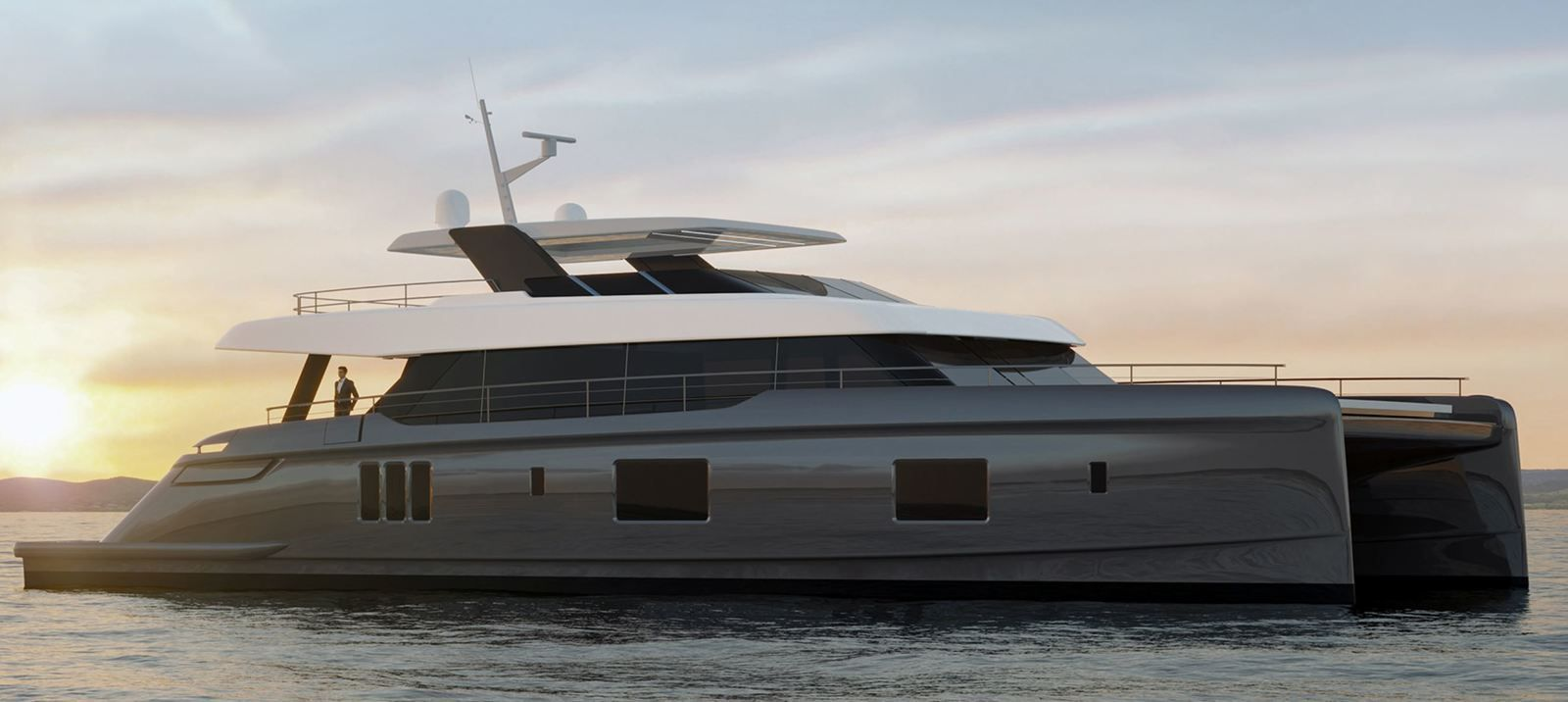 Yachting - Sunreef Yachts signs the sale of a 100-foot motoryacht mega-catamaran!