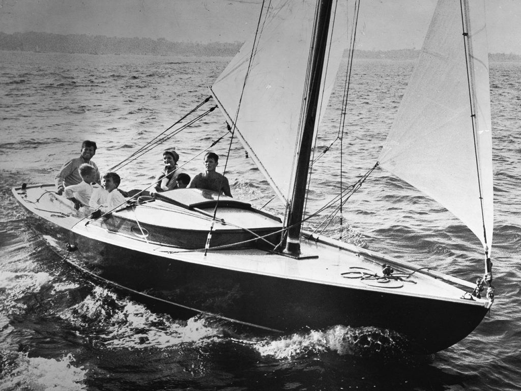 Victura, JF Kennedy's first boat...