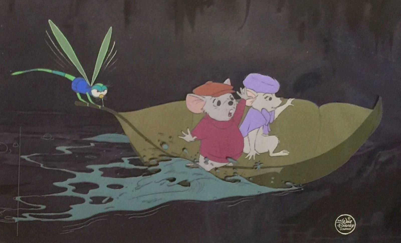 The Evinrude dragonfly, in the cartoon Bernard and Bianca of Walt Disney