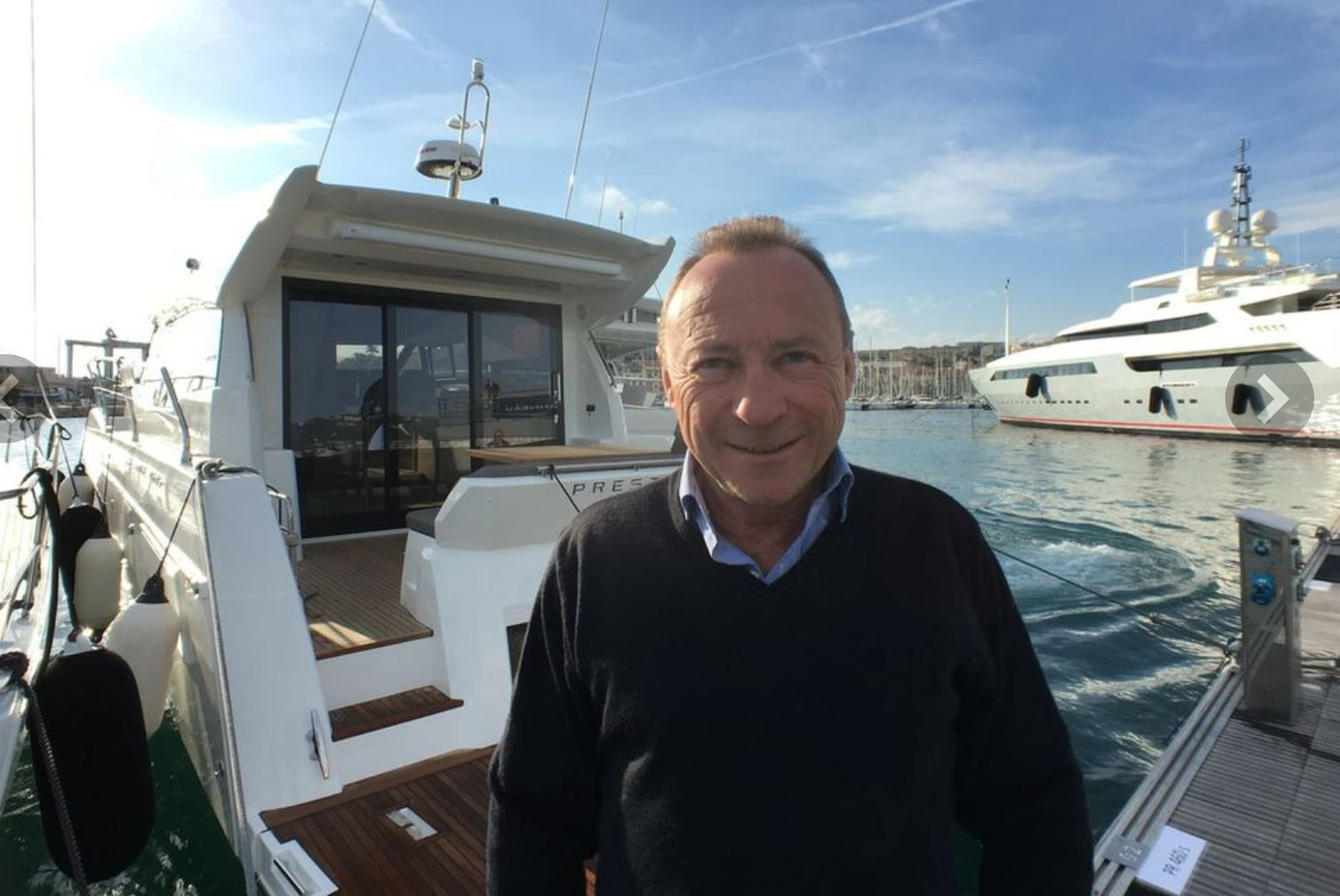 Jean-Paul Chapeleau takes full responsibility for Industrial Operations and Development of the Bénéteau Group's Boat Division