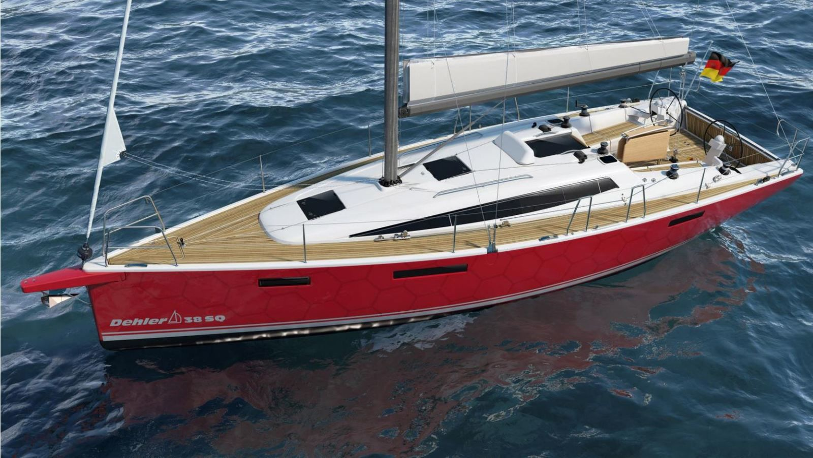 New Dehler 38SQ - exterior design