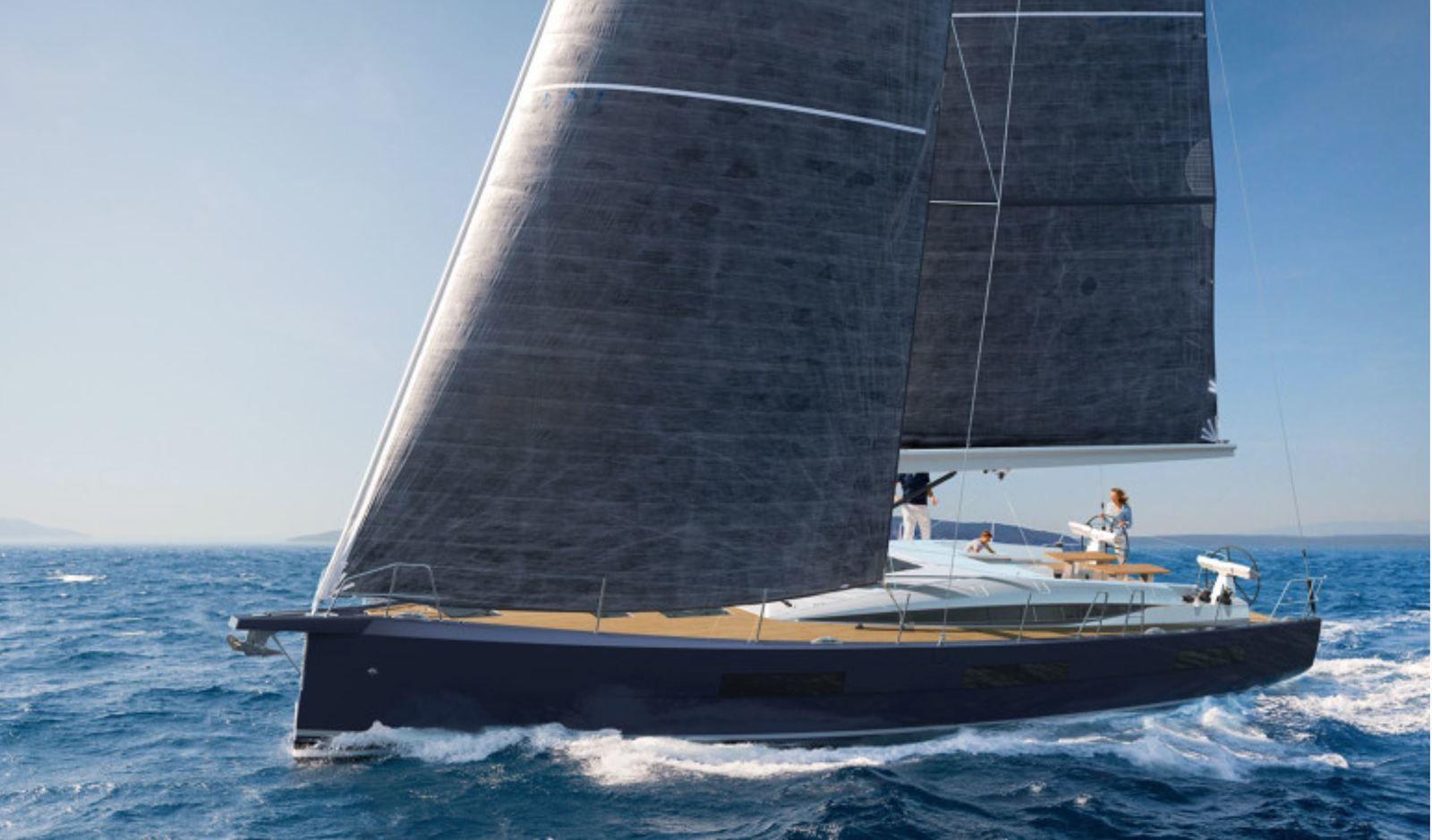 den nya Jeanneau Yachts 60 ändrar stil och blir semi-anpassad