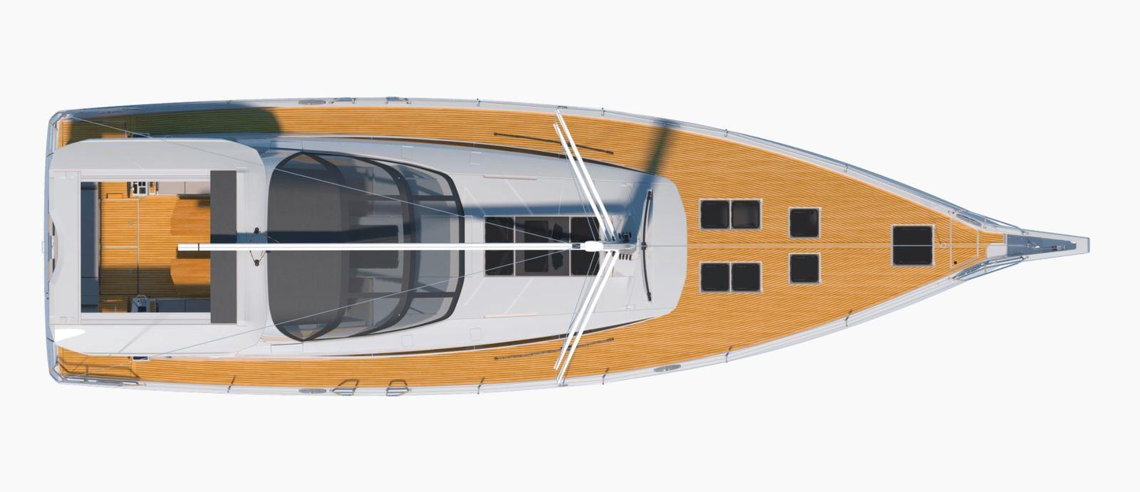 Yachting - il nuovo Jeanneau Yachts 60 cambia stile e diventa semi-custom