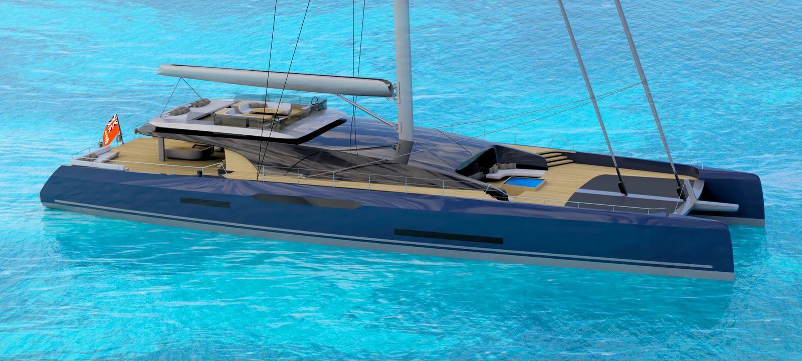 Sunreef and Malcolm McKeon unveil a superyacht catamaran, the Sunreef MM460CAT