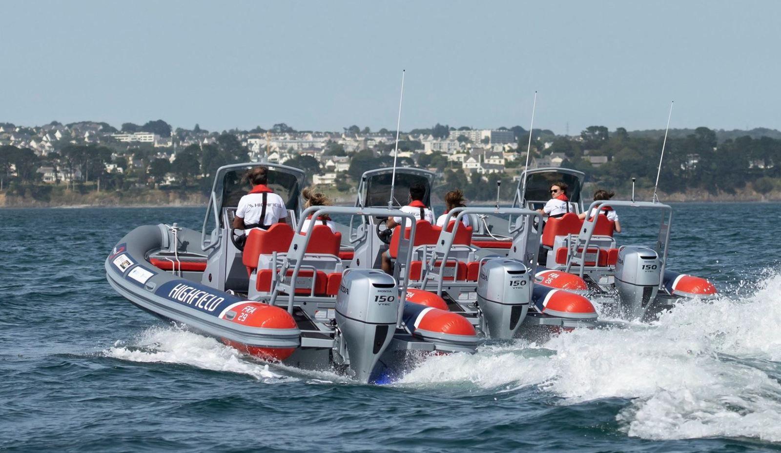 48 Highfield-Honda RIBs for the Vendee Globe 2020 safety boat fleet