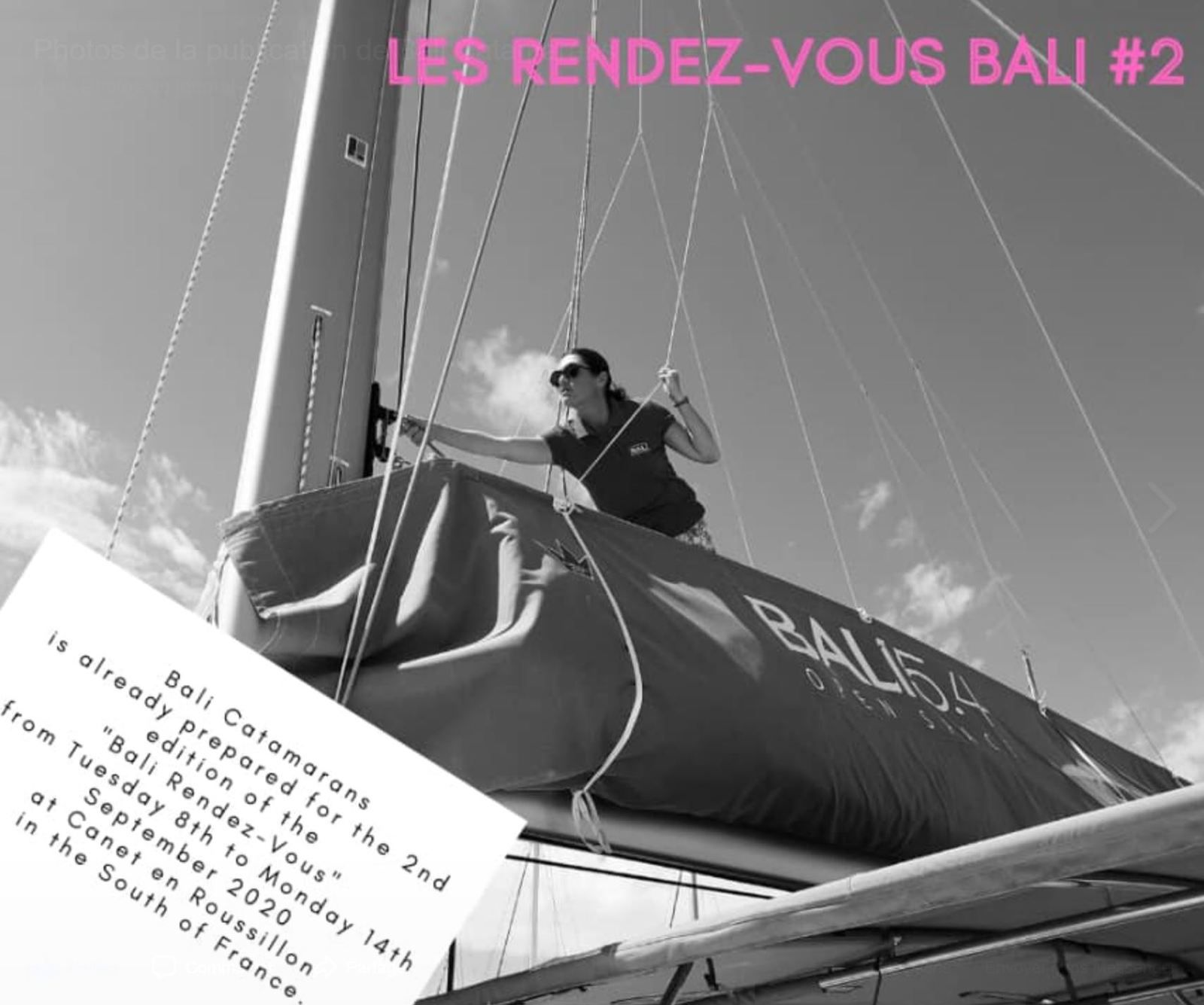 Second edition of the Rendez-Vous Bali, from 8 to 14 September, in Canet en Roussillon