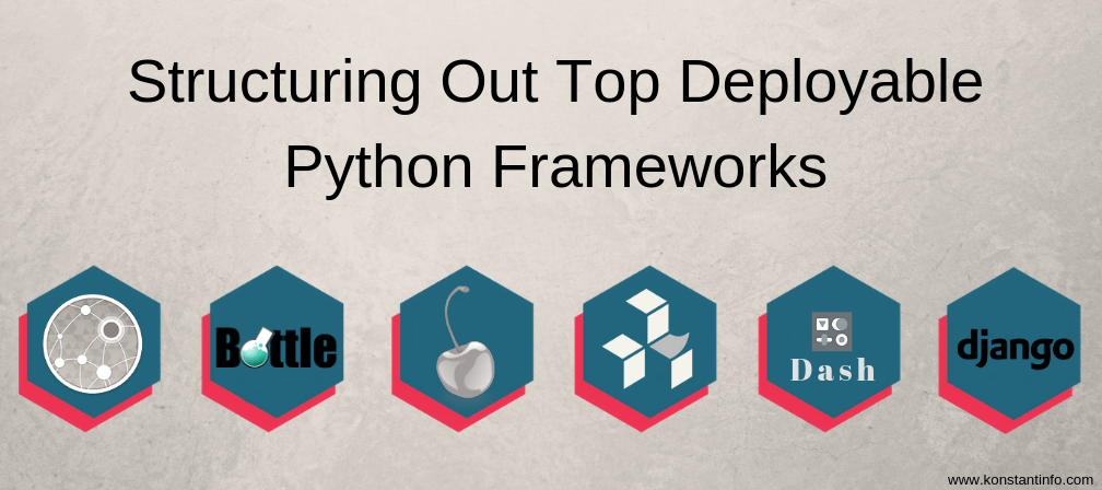 Structuring Out Top Deployable Python Frameworks in 2019