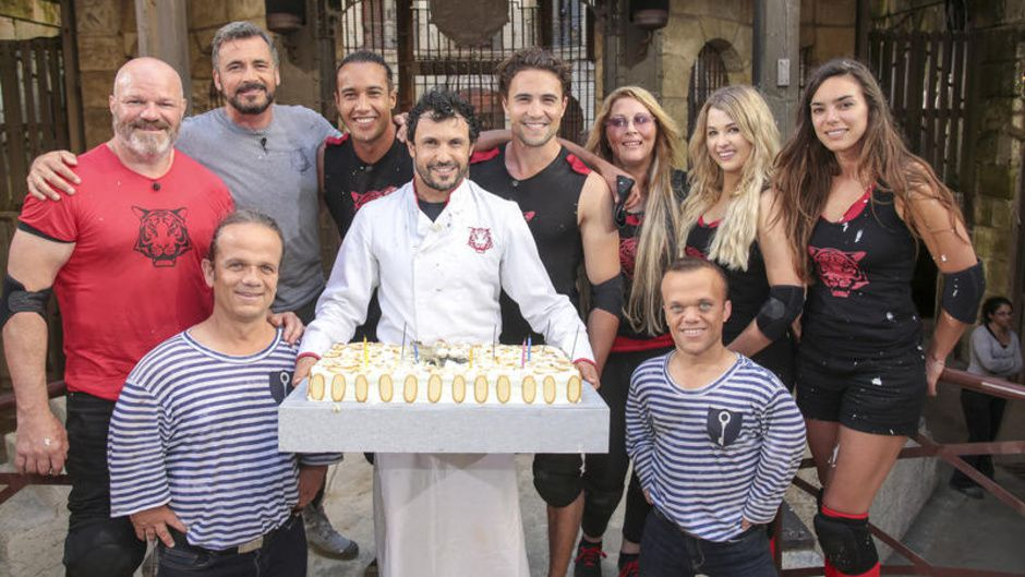 philippe etchebest laurent maistret olivier dion et loana jouent fort boyard ce soir. Black Bedroom Furniture Sets. Home Design Ideas