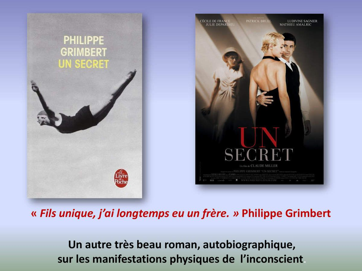 Quelques suggestions de lecture (ou de film)