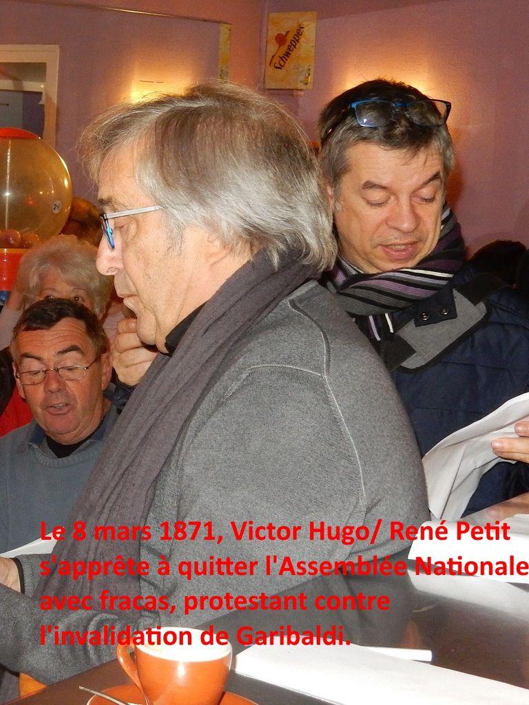 """Quelques photos de """"Jeannin se met sur son 30""""#1, avec René dans le rôle de Victor Hugo et le reportage de Christophe  pour Station Simone."""