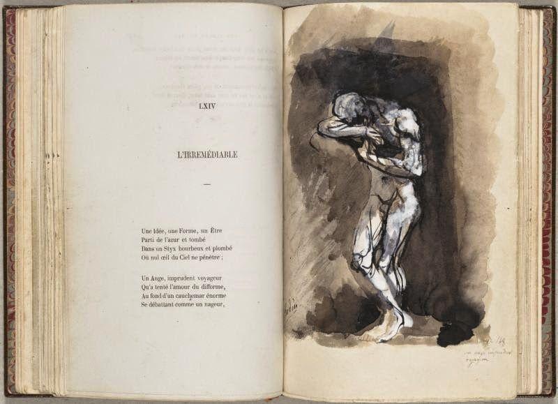 Baudelaire, Les Fleurs du Mal, Spleen et Idéal, illustrations de Rodin.