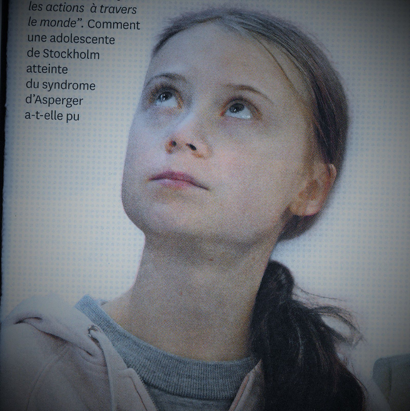 Greta  Thunberg, Photo Courrier international