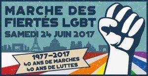 Marche des fiertés LGBT de Paris 2017 !