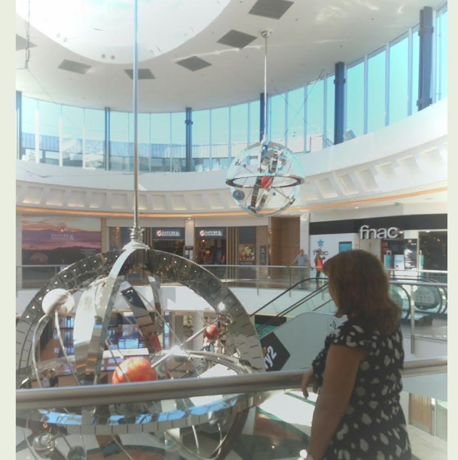 Journée shopping à Evry 2