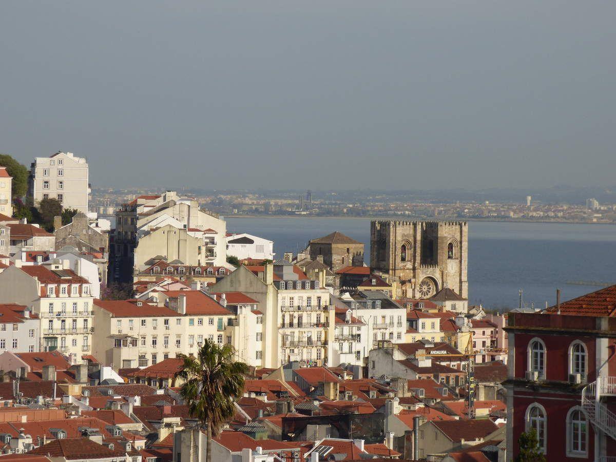 Vues sur le château et la cathédrale