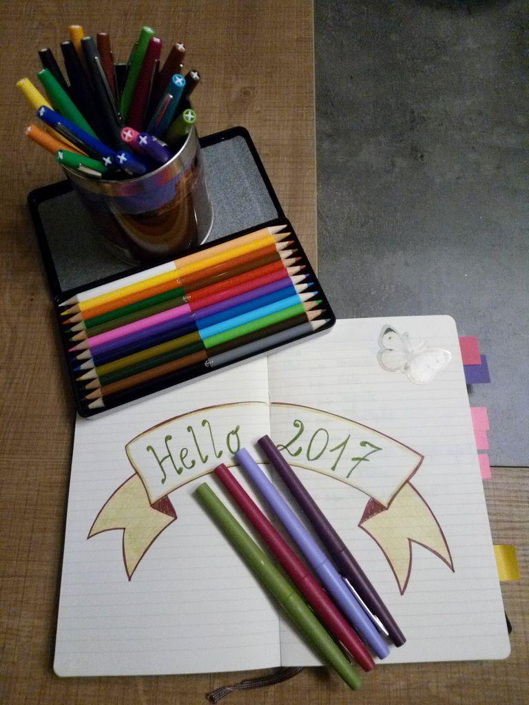 J'ai commencé mon bullet journal