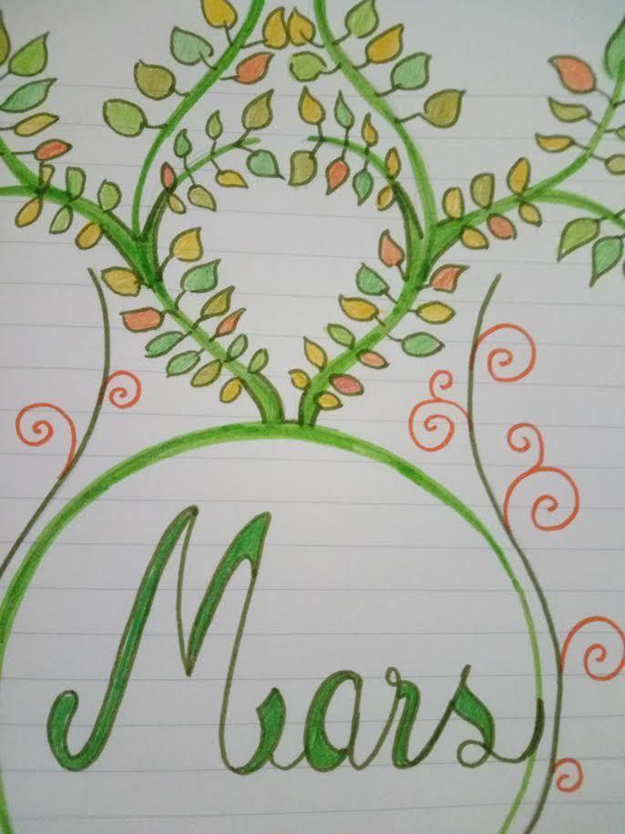 Bientôt le mois de mars, l'occasion de dessiner