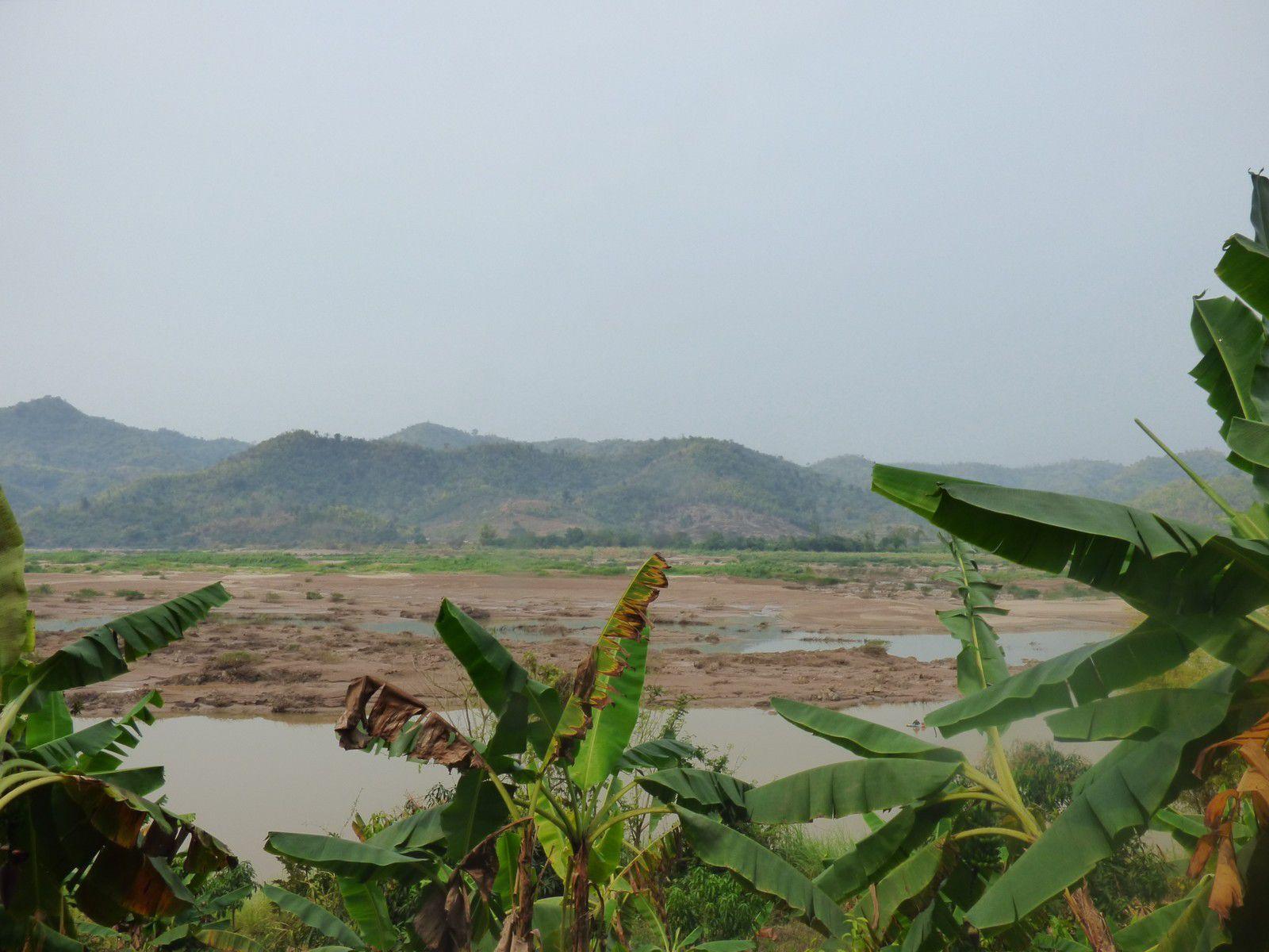 Le Mékong à Chiang Khan