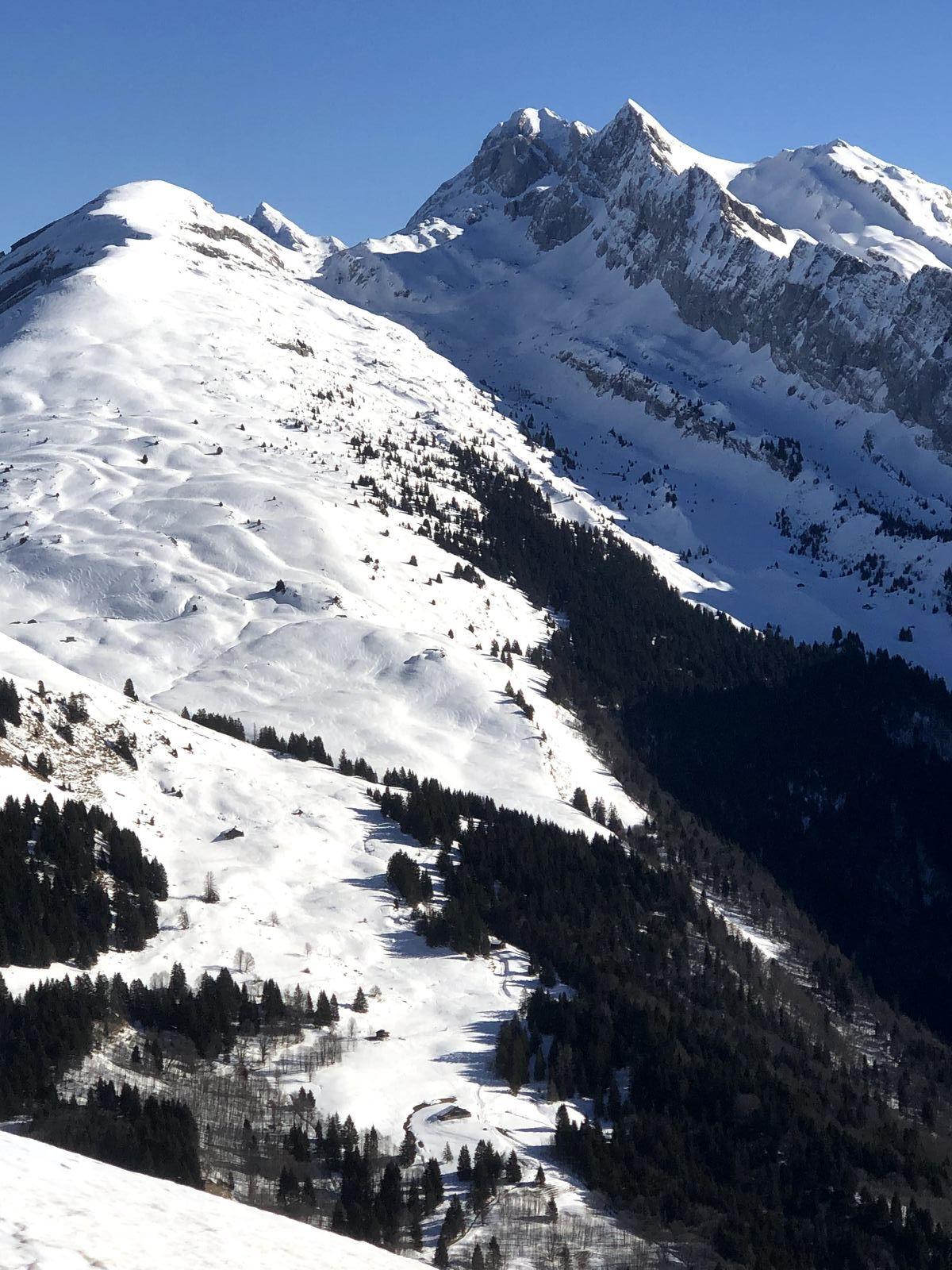 La Tête de Bostan : ski de randonnée