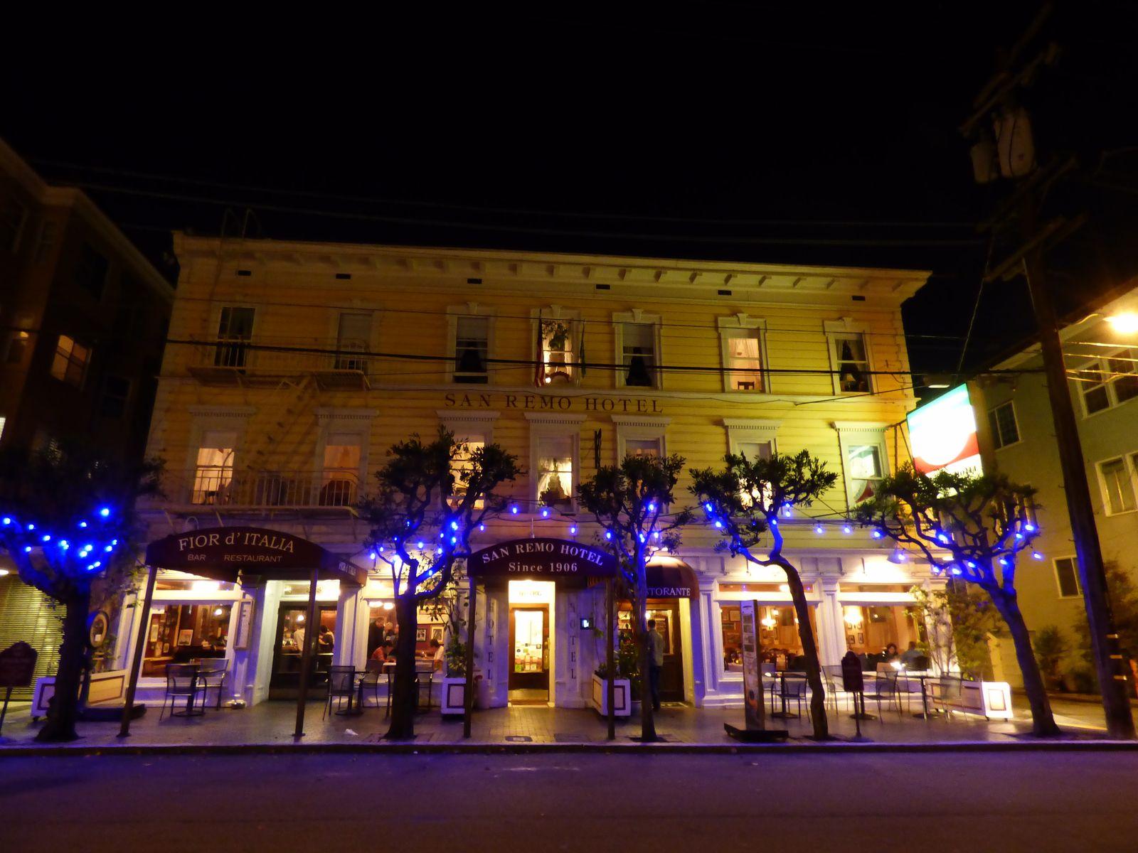 San Remo Hotel de nuit san Francisco