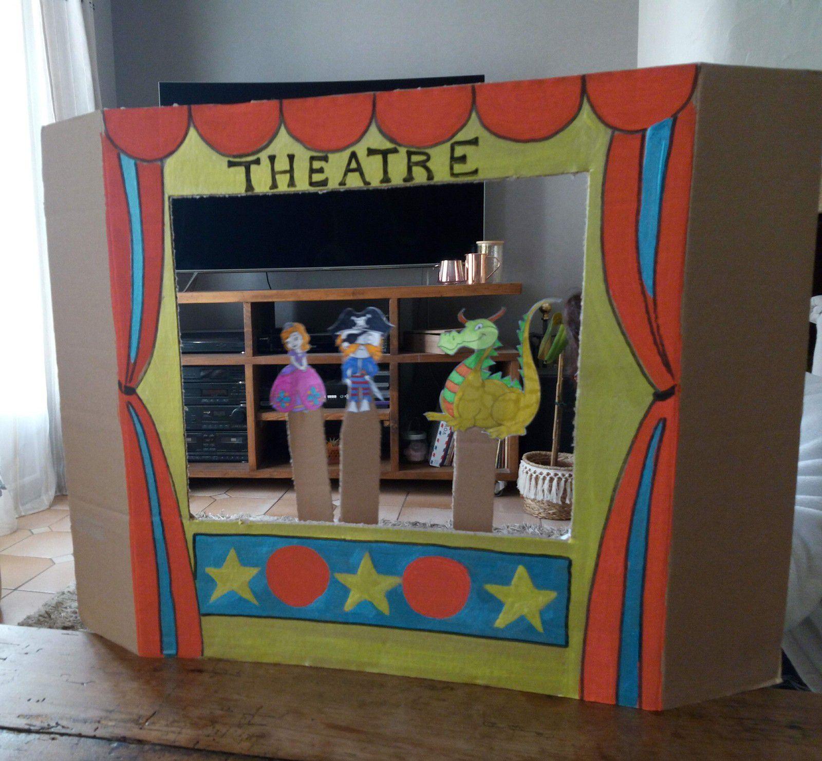bricolage théâtre de marionnettes