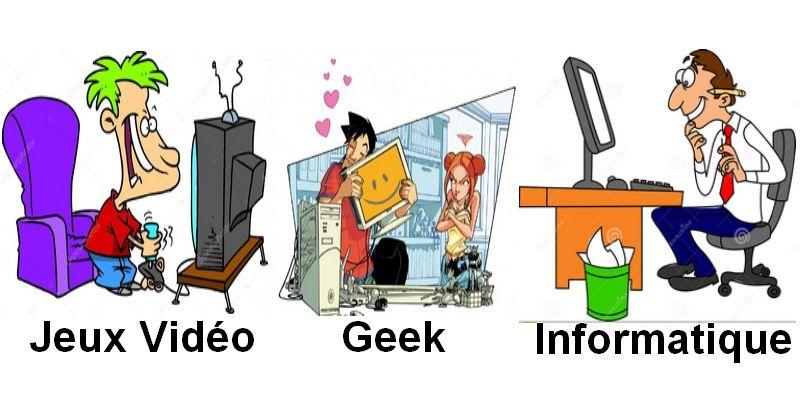groupe Facebook:: Jeux vidéo, Geek & informatique