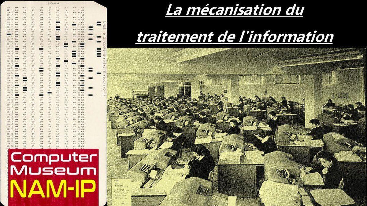 La mécanisation du traitement de l'information - Computer Museum NAM-IP