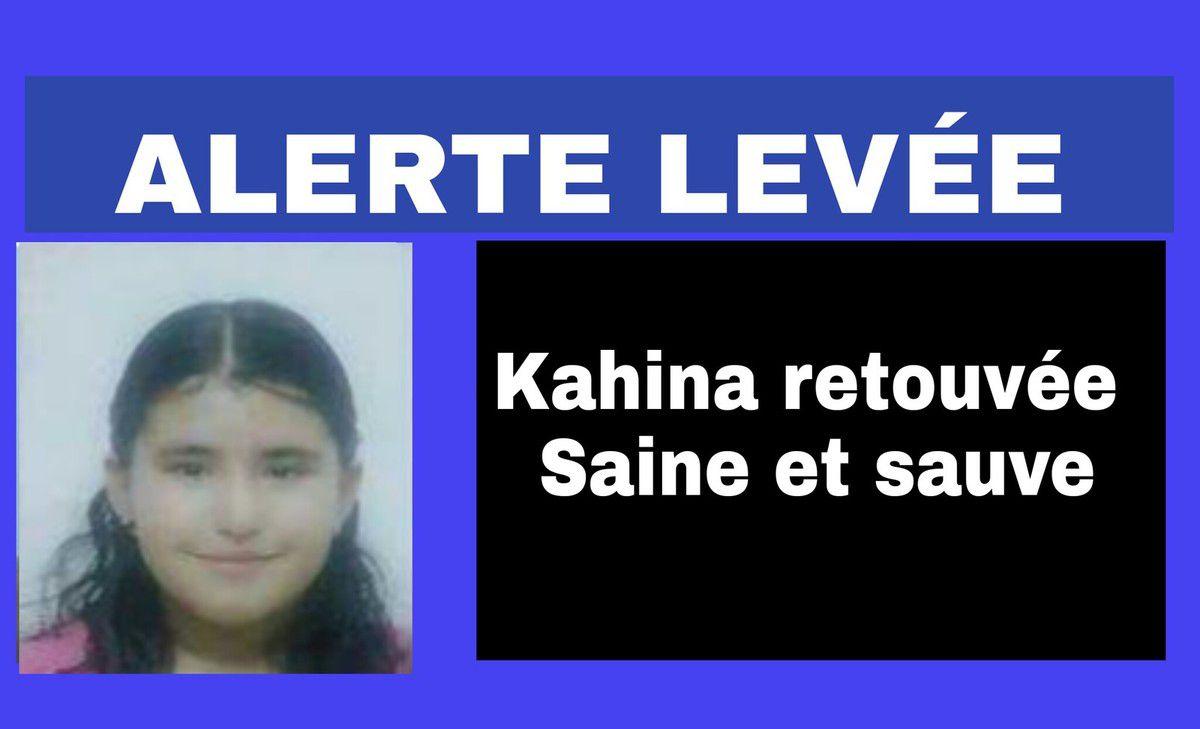 ALERTE LEVÉE : La petite Kahina retrouvée saine et sauve. K-Direct - Actualité