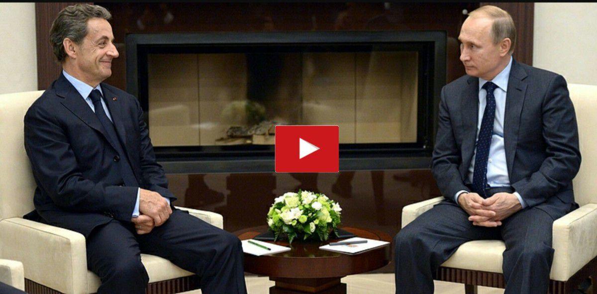 Vidéo : Poutine à Sarkozy : Si tu continues sur ce ton, je t'écrase. K-Direct - Actualité