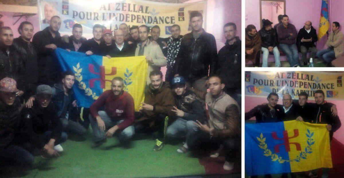 At Zellal : Les militants du MAK At Zellal dans l'oeil du cyclone Algérien. KDirect - Actualité