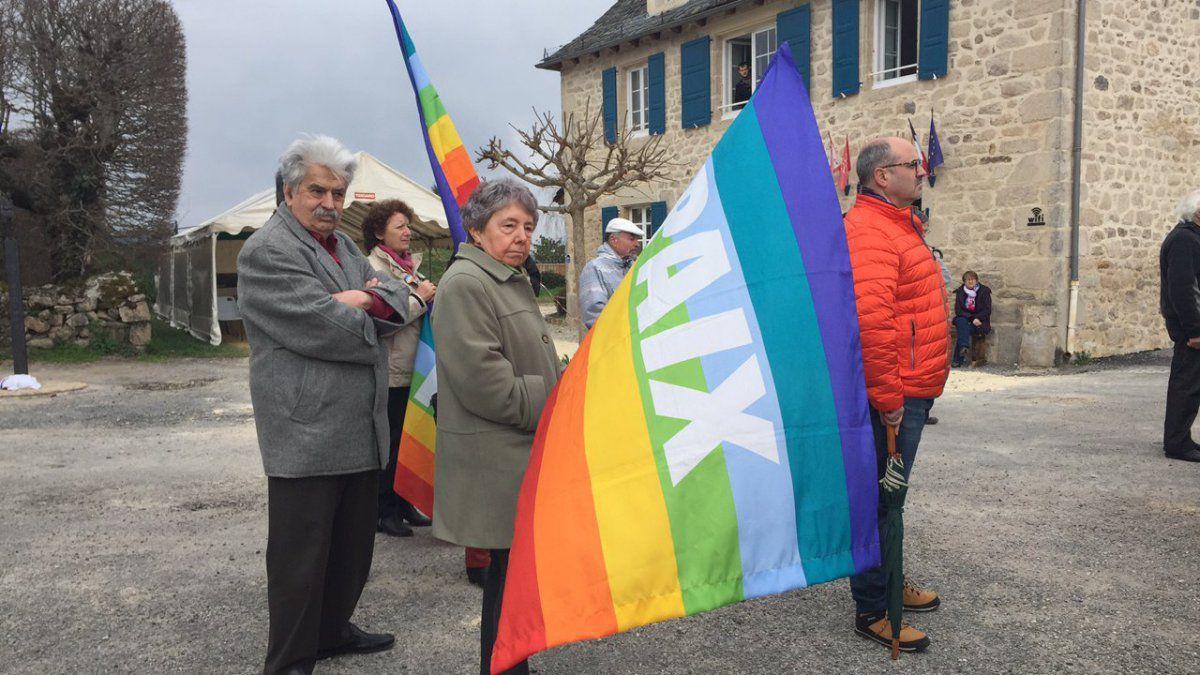commémoration du 19 mars à St Bonnet les Tours de Merle