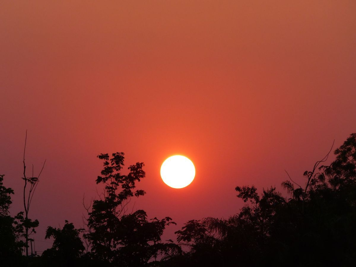 Fin de journée à Phu Pha Yol - La couleur du ciel (19-06)
