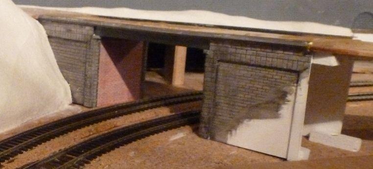 """Construction d'un pont routier type """"Picardie"""" pour passage 2 voies en PVC (Forex)"""