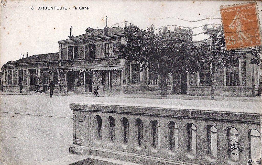 Gare d'Argenteuil