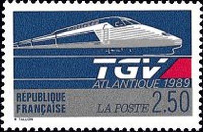 Trains et Philatélie années 1984 à 1989