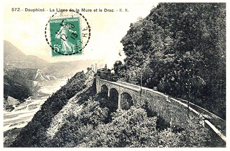 CP ligne de la Mure