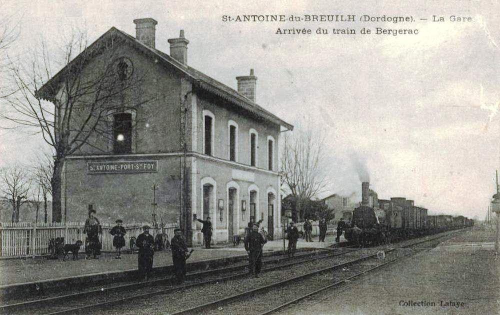 Gare de Saint Antoine de Breuil