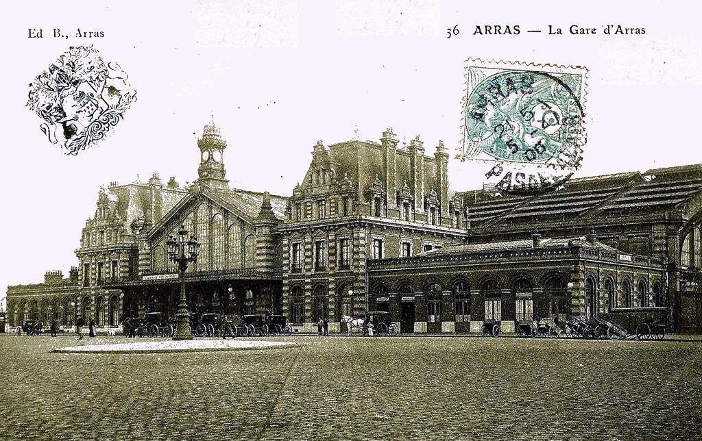 """CP gare d'Arras """"la grand place"""""""