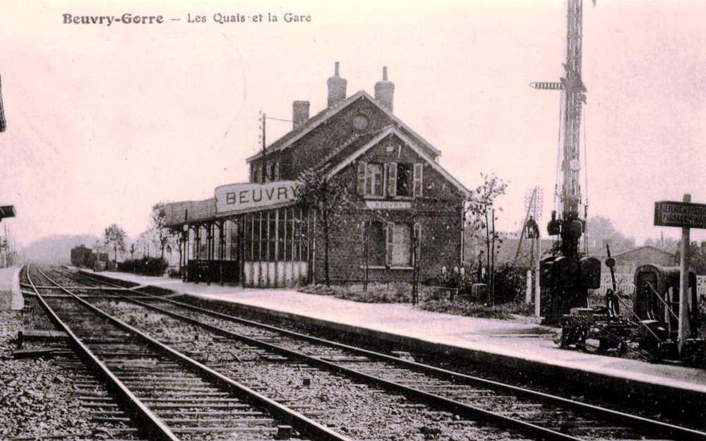 CP gare de Beuvry sur Gorre