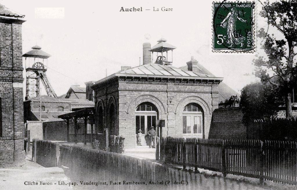 CP gare d'Auchel