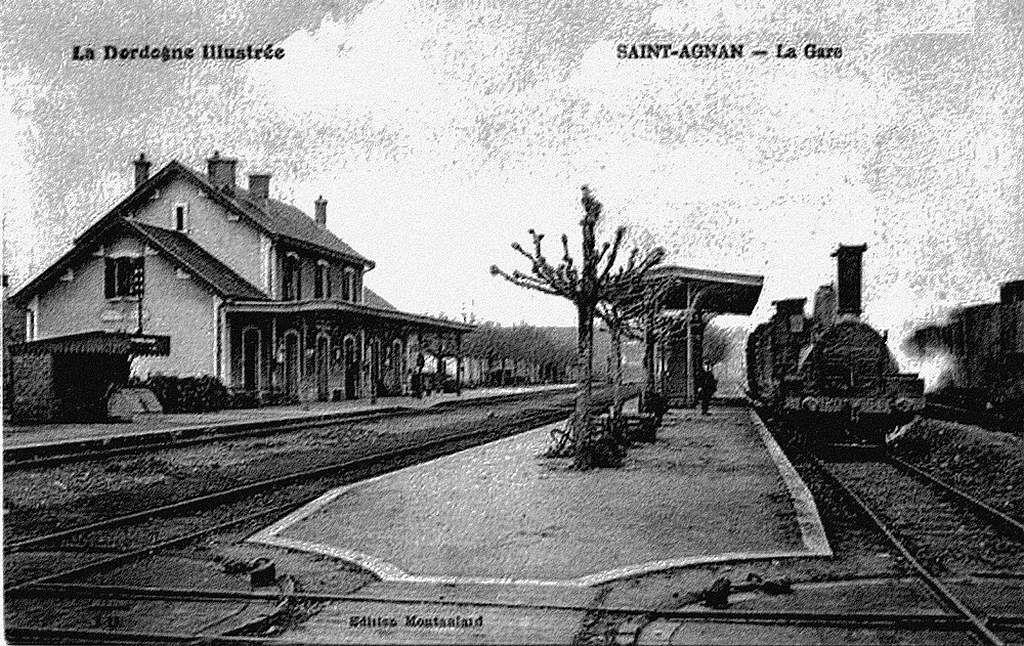 CP gare de Saint Agnan