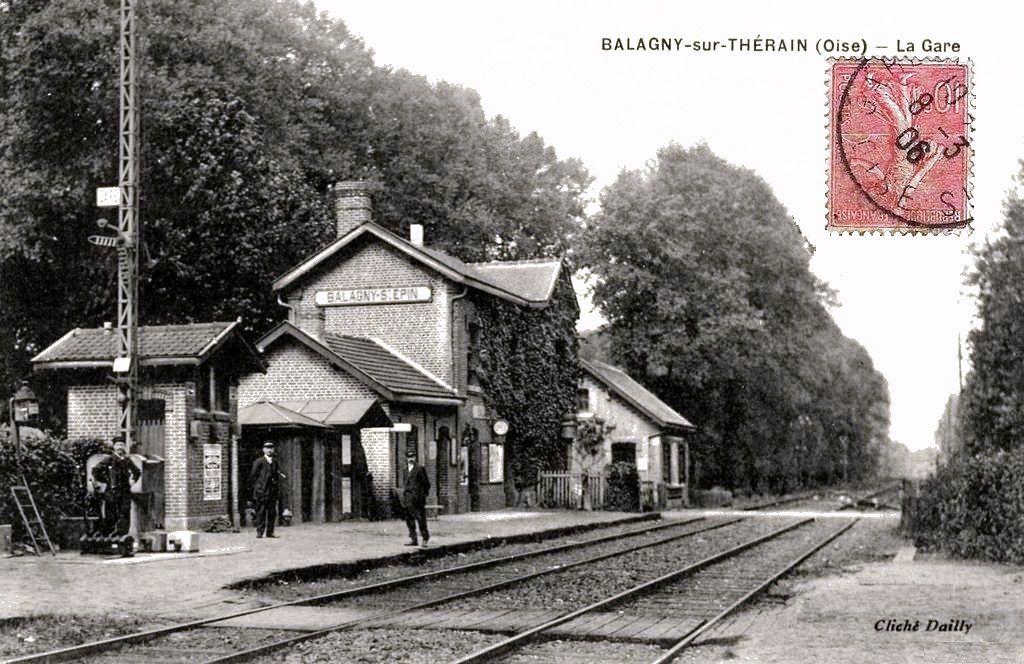 CP gare de Balagny sur Therain