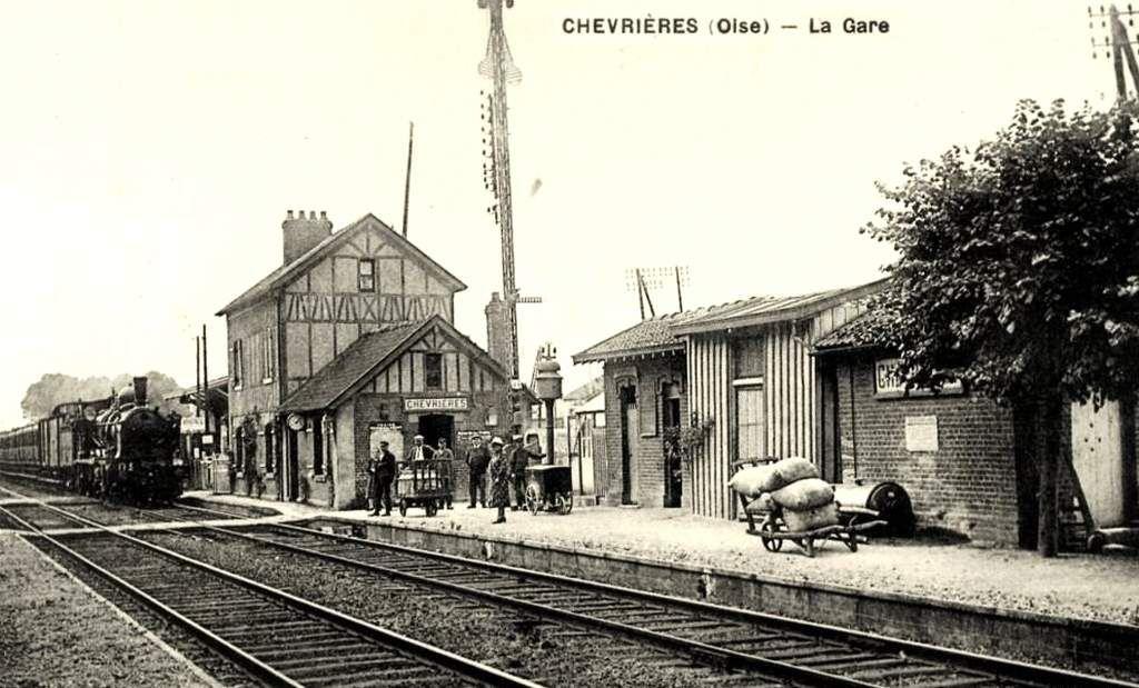 CP gare de Chevrières (60)