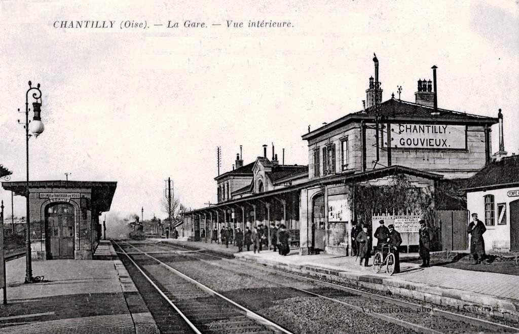 CP gare de Chantilly-Gouvieux (60)