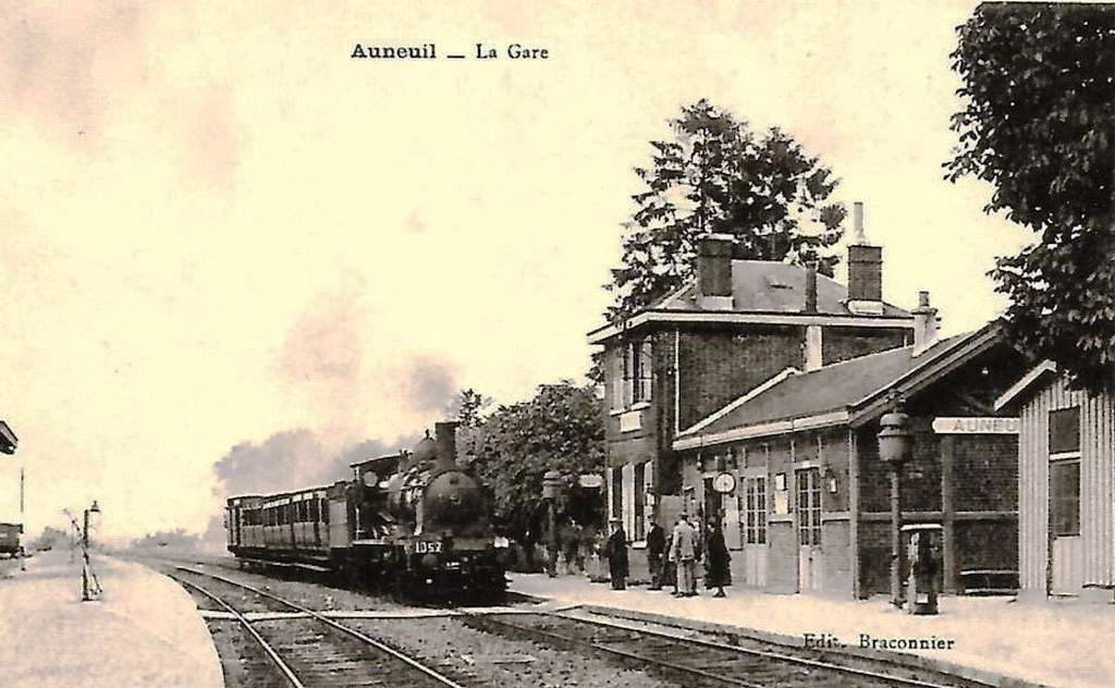 CP gare d'Auneuil (60)