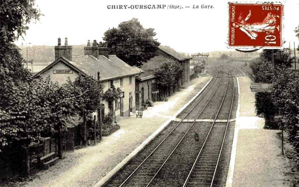 CP gare de Chiry-Ourscamp (60)