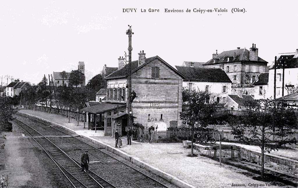 CP gare de Duvy (60)