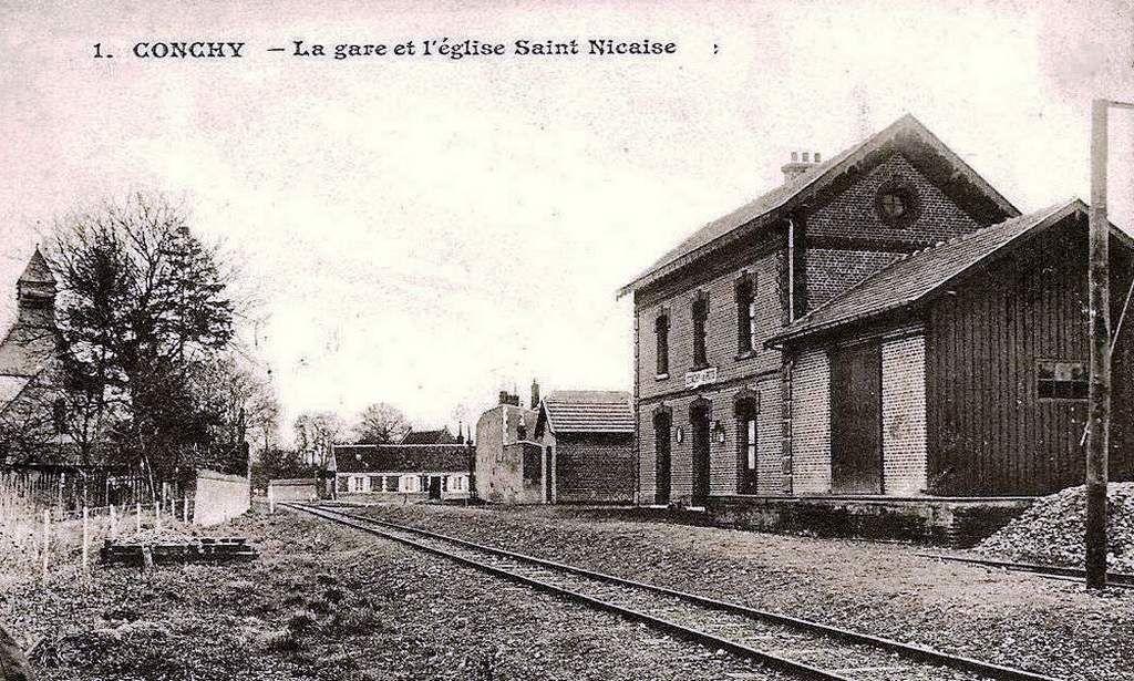 CP gare de Conchy (60)