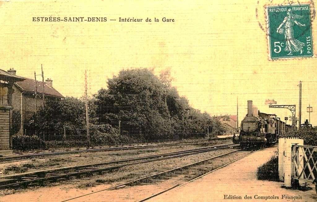 CP gare d' Estrées Saint Denis (60)