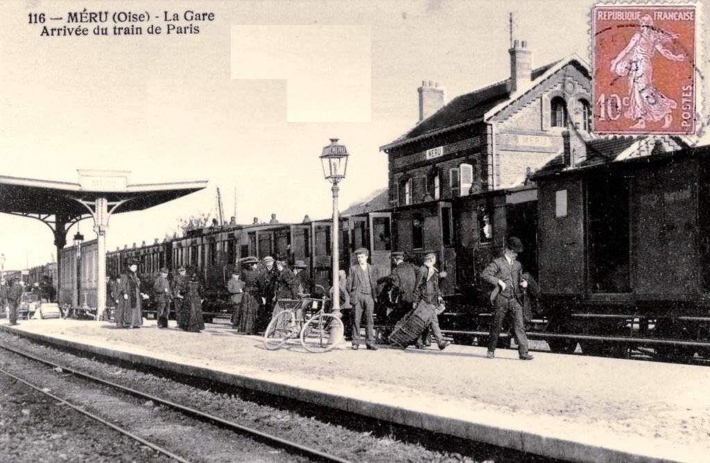 CP gare de  Méru (60)